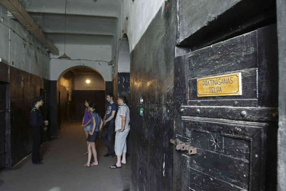 Spend the night in the haunted Naval Port Prison in Latvia