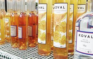 Koval distillery for Ampersand chicago