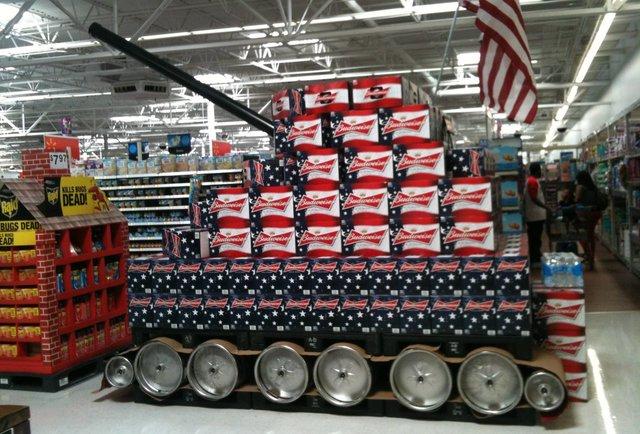 Budweiser Tank
