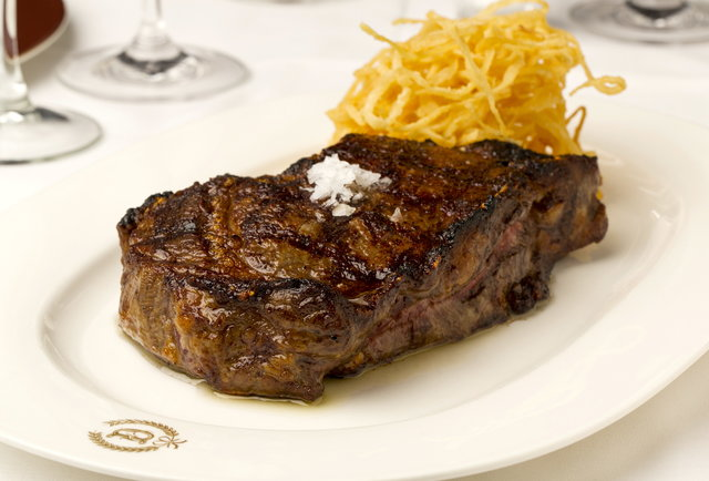 Delmonico's Steak-Prepare to split your stomach at this all-you-can-eat grilling tournament hosted by Geoffrey Zakarian