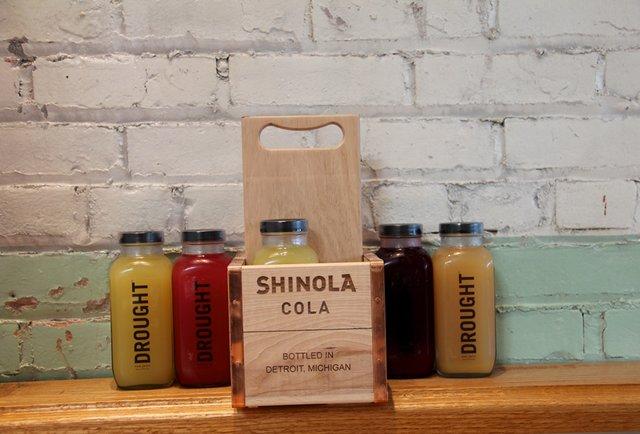 Drought juice bottles