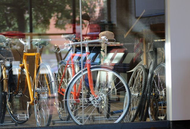 Bikes at Shinola