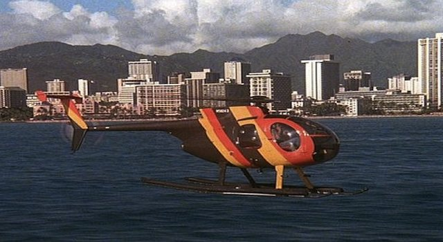 Magnum Pi Helicopter Tour Hawaii