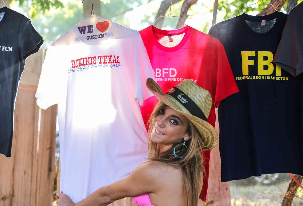 Bikinis, TX t shirt