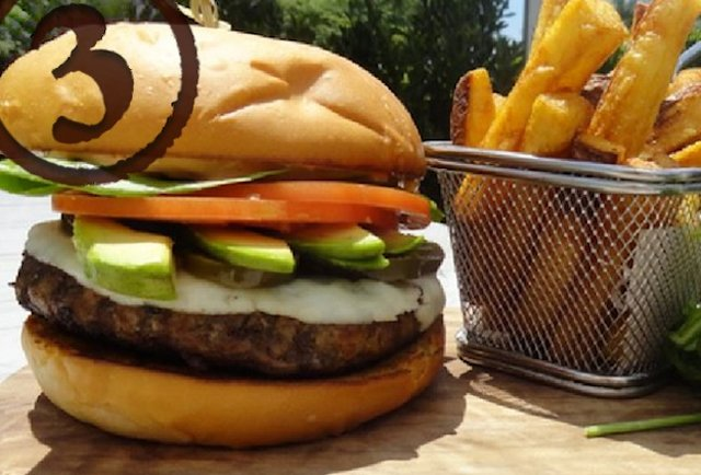 The Edge Burger
