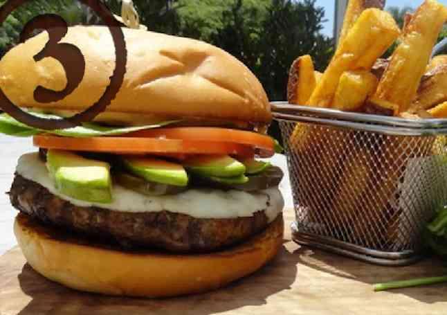 The Edge Burger
