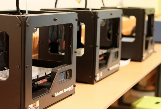 Harold Washington Library's 3D Printers
