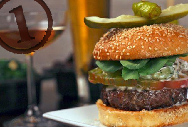 bourbon steak burger dc