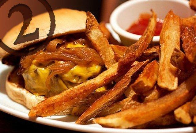 Brindle Room's Steak House Burger