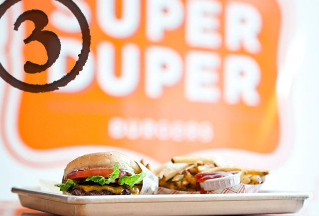 The Super Duper burger
