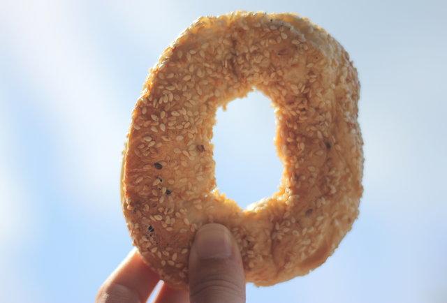 Sesame bagel Montreal