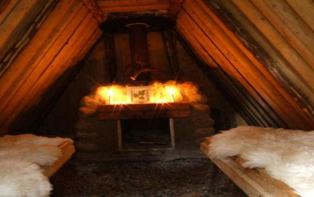 interior swedish cabin