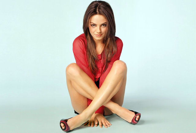 Mila Kunis Saves Old Dude's Life, Is Still Hot