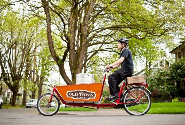 Old Town's Bike-Delivery Brews