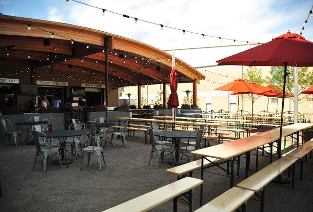 Lowry Beer Garden Drink Thrillist Denver
