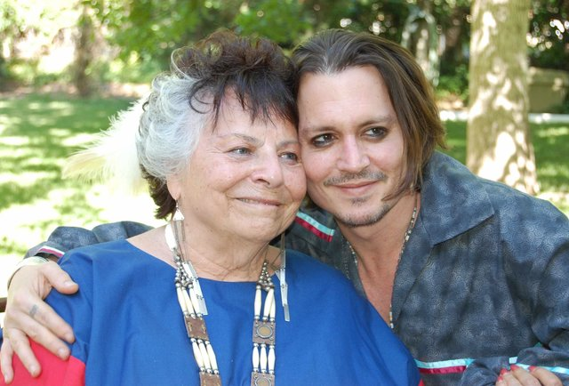 Johnny Depp Adopted By Kindly Native Americans