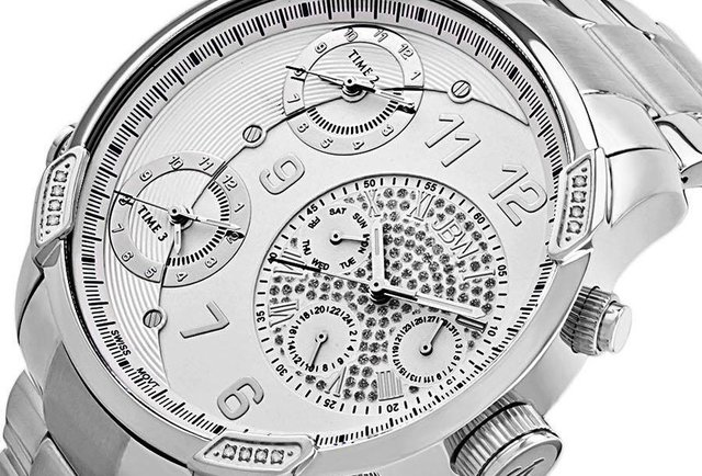 G4 Watch, Decorative Pave Dial