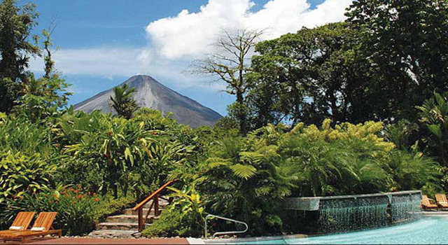 Relax in Costa Rica's Volcanic Hot Springs