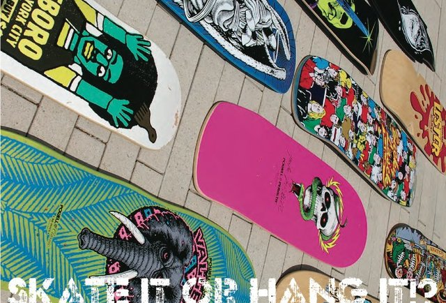 Skate It or Hang It