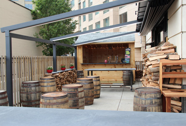 Sweet Cheeks' New Beer Garden