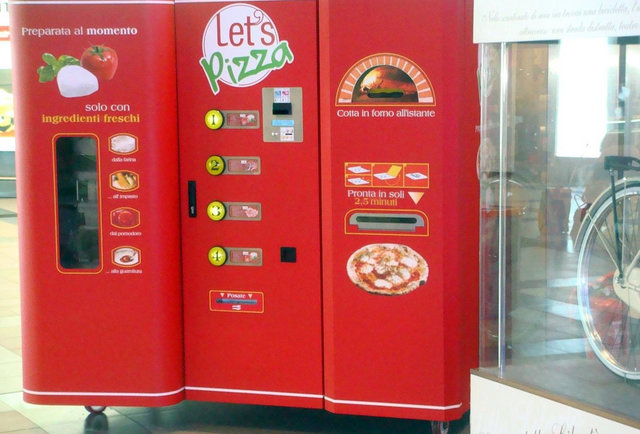 Pizza Vending Machines Coming To America