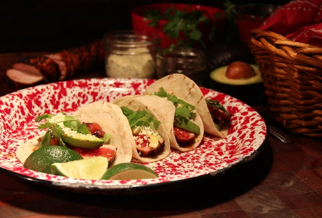 Hill Country's Smoky Pork Tenderloin Tacos