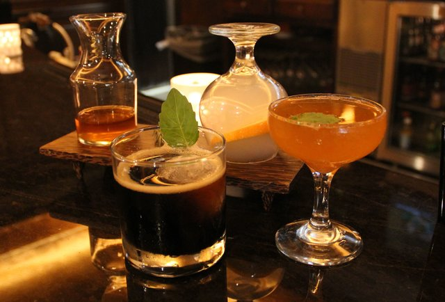 Craft cocktails at Jefferson House