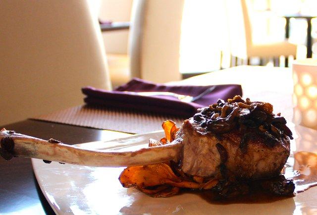 berkshire pork chop at Jefferson house