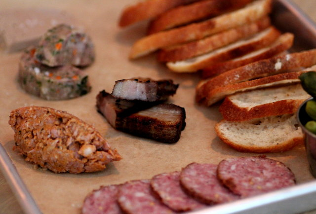 Sausage Plate at Mikkeller Bar