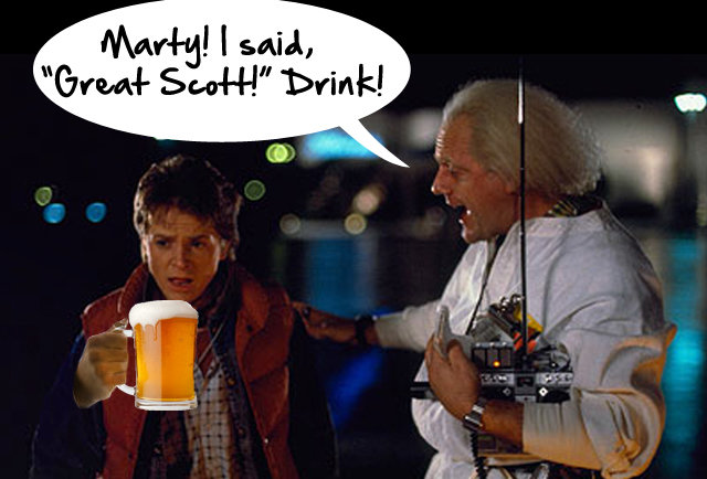Back To The Future: The Drinking Game