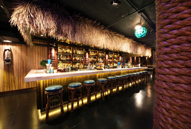 Three Dots And A Dash A Tiki Bar In The Heart Of River