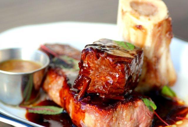 Braised shortrib at PB Steak