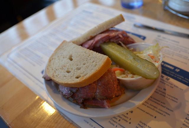 Caplansky's Delicatessen sandwich