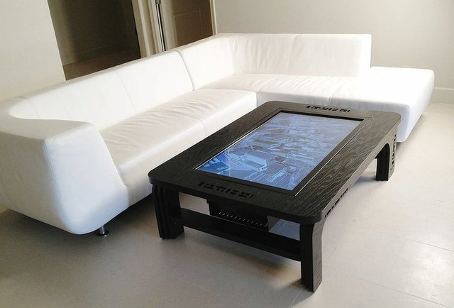 #2. Mozayo Coffee Table