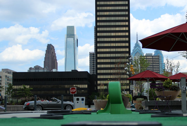 The Porch at 30th St Station's Mini Golf Beer Garden
