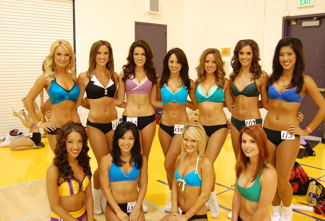 Laker Girls Auditions