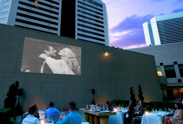Pop-Up Dinner and a Movie
