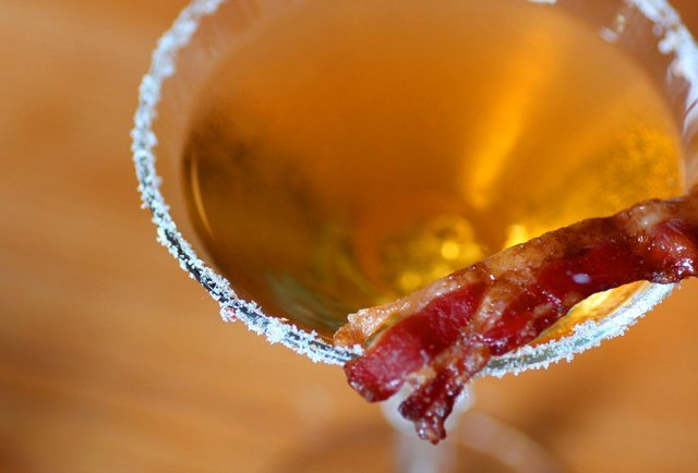 Vintage Enoteca's Bacon & Wine Dinner
