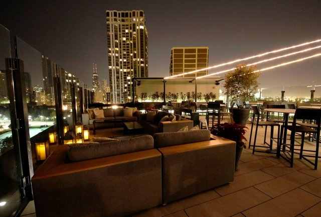 The j parker the hotel lincoln 39 s 13th floor rooftop for 13th floor chicago