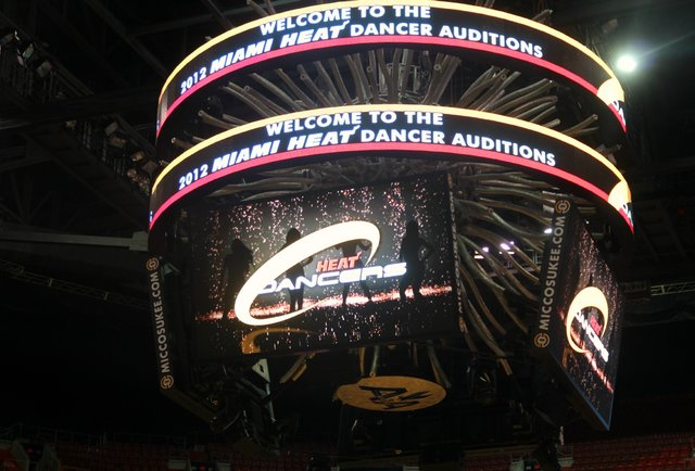 Tons of Photos From the Miami Heat Dancer Auditions