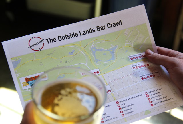 The Outside Lands Bar Crawl