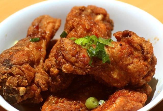 Korean Fried Chicken Wings, Sakaya Kitchen - Miami