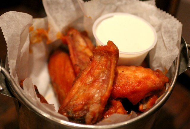Bucket O' Wings, Titanic - Miami