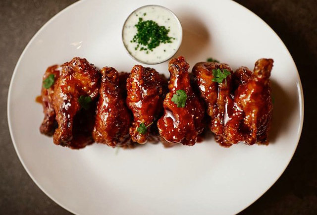 Distilled Buffalo wings - NYC