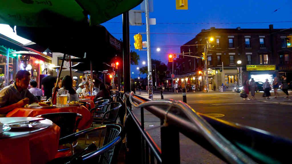 Toronto patio summer