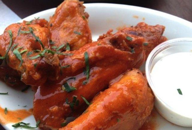 Chicken Wangs Cafe Menu