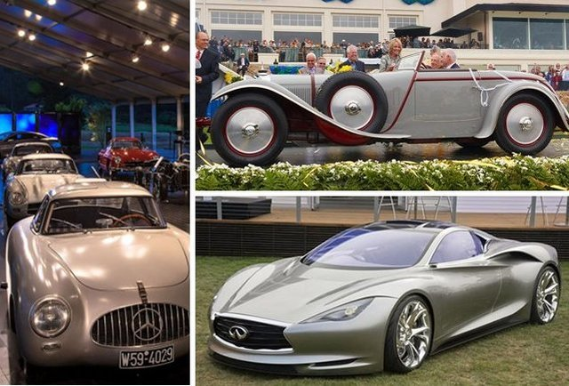 Highlights from the Pebble Beach Car Show