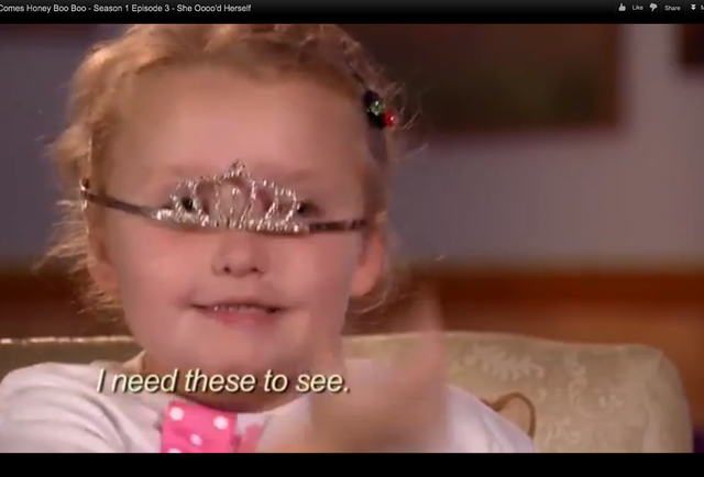 Sadly, Honey Boo Boo Child Must Be Discussed