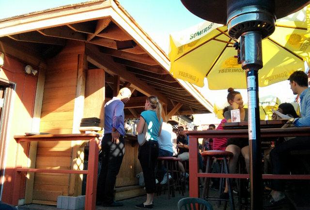Pauper's Pub Toronto patio