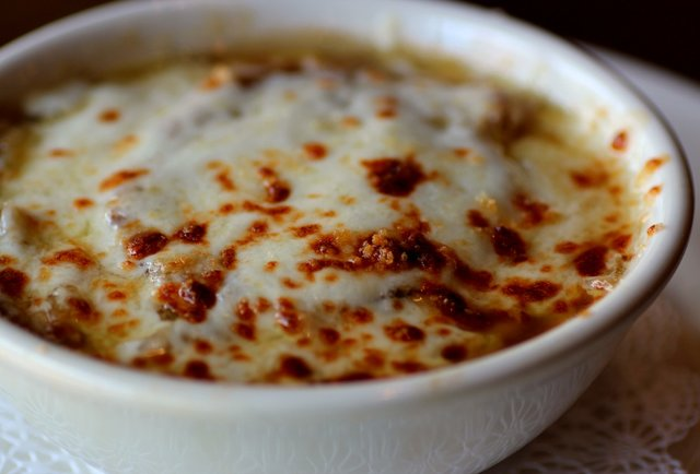 Slow Roasted Onion Soup